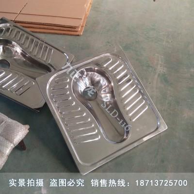 农村厕所革命用不锈钢蹲便器 大型一体水冲厕具 详情电联