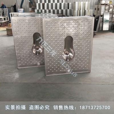 平台式不锈钢蹲便器 整体地板式厕具 采用1.2加厚板材