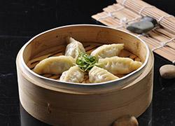 梅干菜蒸饺