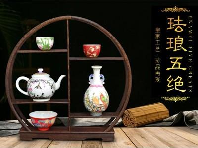 皇家工艺——珐琅五绝-- 传世书画研究院