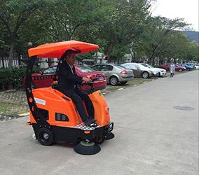 台湾合肥梦园小区——扫地车V2