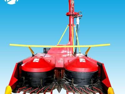 新型双圆盘式青储机割台高效割茬低青贮机批发价格犇牛农机-- 山东犇牛畜牧机械设备有限公司