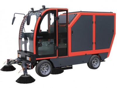 全天候大型自动倒卸式清扫车 T9