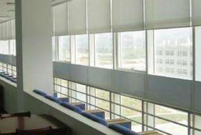 三联大厦窗帘案例
