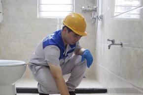 商洛卫生间防水案例