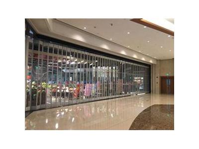 折叠水晶门-- 合肥万邦门业有限公司