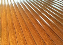 木纹型材门