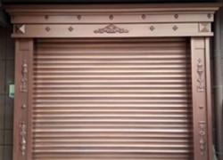 仿铜型材门