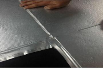 家用电器保冷隔热保温材料纳米气凝胶毡