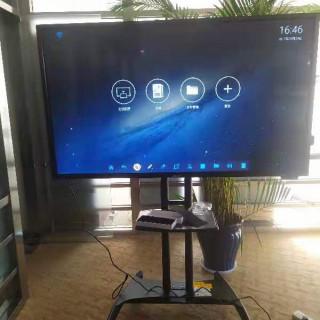 飞利浦65寸会议平板无线投屏,双系统
