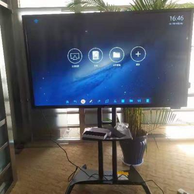 飞利浦98寸会议平板无线投屏,双系统