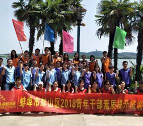 淮南蚌山区青年干部素质拓展营
