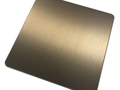拉丝褐色-- 恒品金属