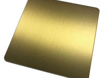 拉丝黄金-- 恒品金属