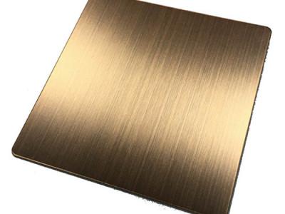 拉丝红古铜-哑光抗指纹-- 恒品金属