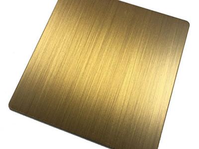 手工发黑黄古铜-细丝-- 恒品金属